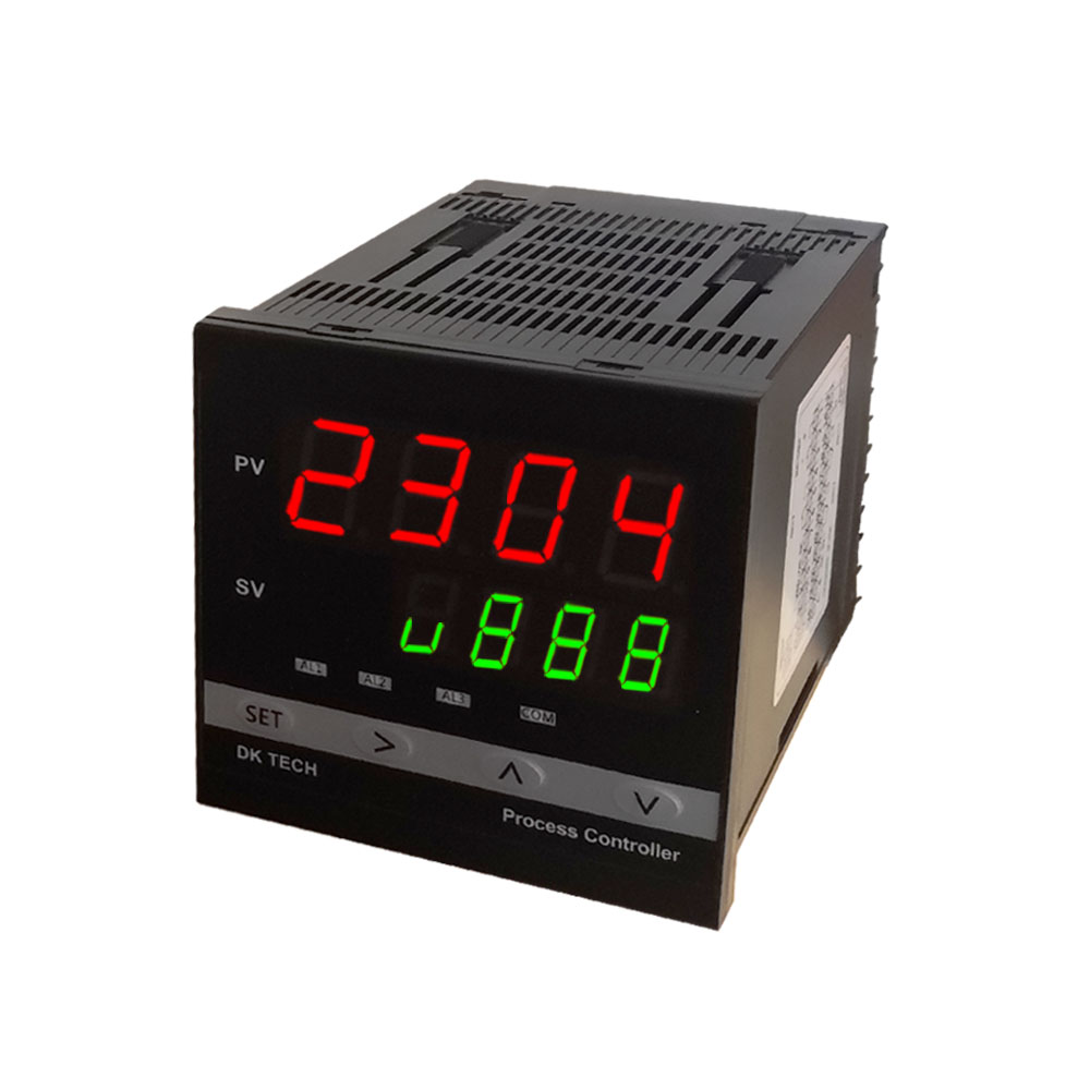 DK2304S dual loop 8 stage curve temperature and humidity control position type process control instrument